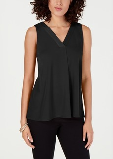 Alfani Solid V-Neck Tank Top, Created for Macy's