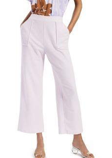 Alfani Modern Lounge Solid Wide-Leg Pants, Created for Macy's