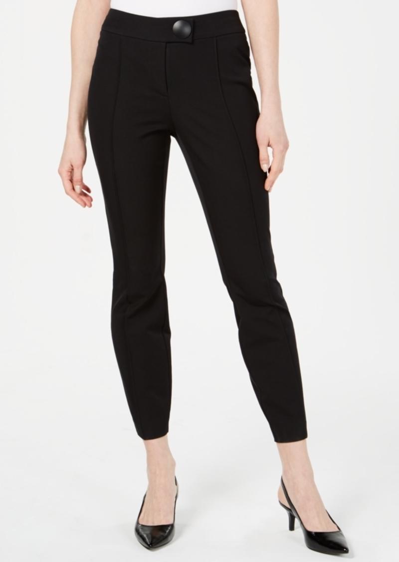Alfani Statement-Hardware Skinny Pants, Created for Macy's