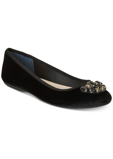 Alfani Women's Step 'N Flex Aleasha Velvet Ballet Flats, Created for Macy's Women's Shoes