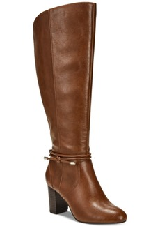 Alfani Women's Step 'N Flex Giliann Wide-Calf Dress Boots, Created for Macy's Women's Shoes