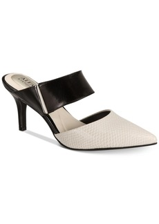 Alfani Step N' Flex Jalessia Pointed-Toe Mules, Created for Macy's Women's Shoes