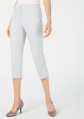 Alfani Straight-Leg Capri Pants, Created for Macy's