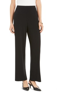 Alfani Straight-Leg Trousers, Created for Macy's
