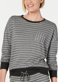 Alfani Ultra Soft Crewneck Pajama Top, Created for Macy's
