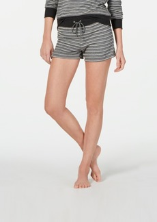 Alfani Ultra Soft Striped Pajama Shorts, Created for Macy's