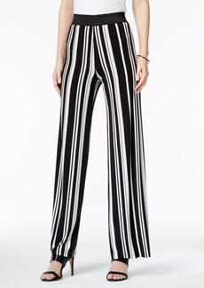 Alfani Striped Palazzo Pants, Only at Macy's