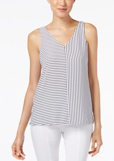 Alfani Striped Tank Top, Only at Macy's