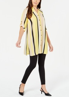 Alfani Striped Tunic, Created for Macy's