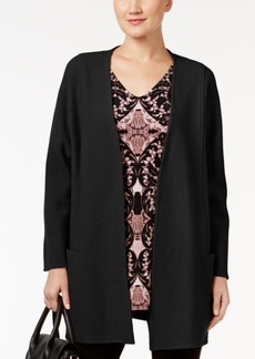 Alfani Sweater Coat, Only at Macy's