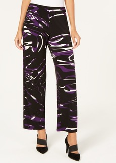 Alfani Swirl-Print Pull-On Pants, Created for Macy's