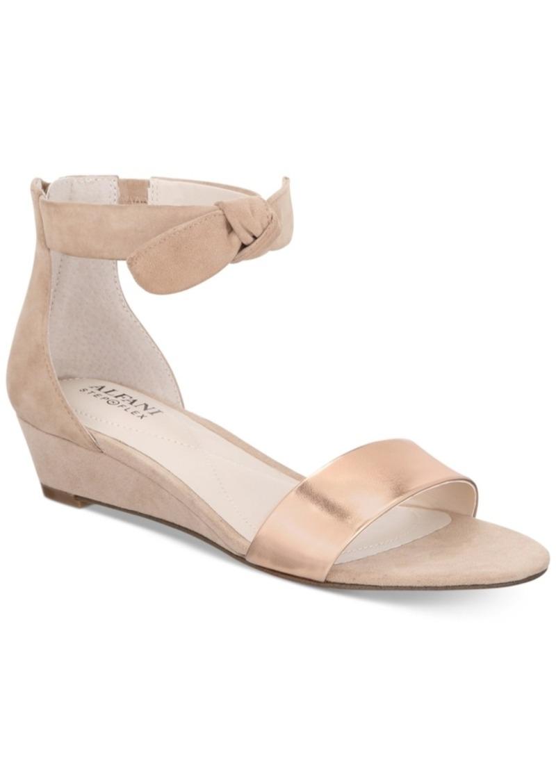 8e3b5fc4142b Alfani Alfani Women s Tamirr Step  N Flex Wedge Sandals