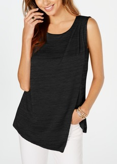 Alfani Textured Crossover Top, Created for Macy's