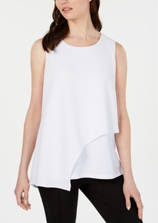 Alfani Textured Overlay Top, Created for Macy's