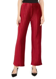 Alfani Petite Pleated Velvet Pants, Created For Macy's