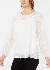 Alfani Textured Top, Created for Macy's