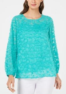 Alfani Textured Top, Created for Macy's
