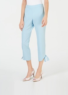 Alfani Tie-Cuff Cropped Pull-On Pants, Created for Macy's