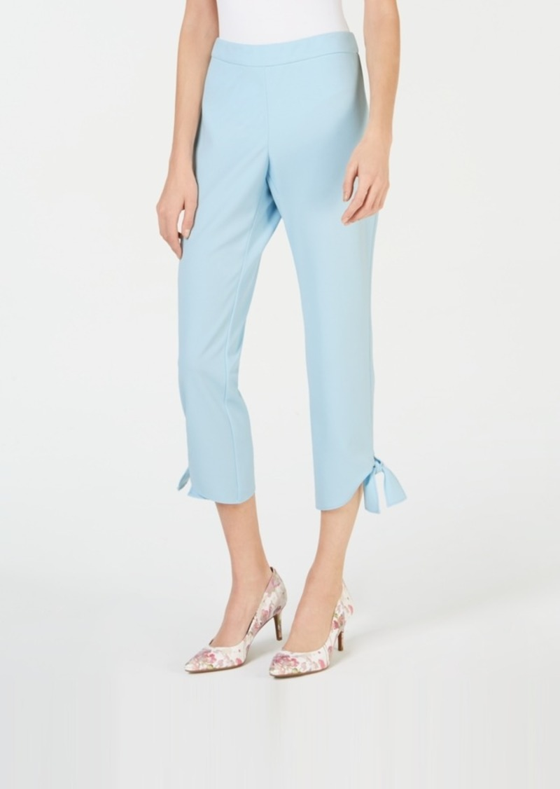 Alfani Side Tie Ankle Pants, Created for Macy's
