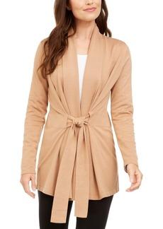 Alfani Tie-Front Cardigan, Created For Macy's