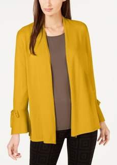 Alfani Tie-Sleeve Cardigan, Created for Macy's