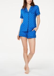 Alfani Top & Shorts Sleep Set, Created for Macy's