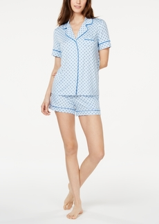 Alfani Top & Shorts Sleep Set, Created for Macy's