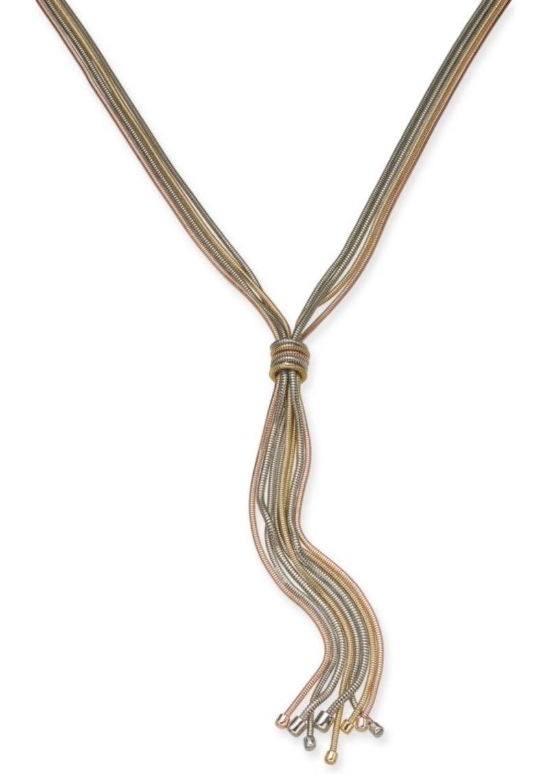 "Alfani Knotted Lariat Necklace, 32"" + 2"" extender, Created for Macy's"