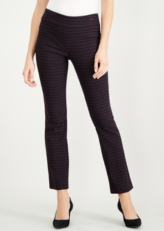 Alfani Tummy-Control Jacquard Trousers, Created for Macy's