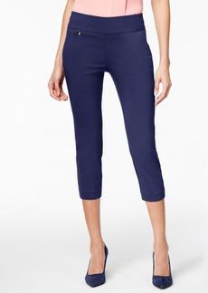 Alfani Tummy-Control Pull-On Capri Pants, Created for Macy's