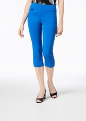 Alfani Tummy-Control Pull-On Capri Pants, Created for Macy's