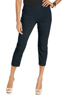 Alfani Tummy-Control Pull-On Capri Pants, Only at Macy's