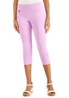 Alfani Tummy-Control Pull-On Capri Pants, Regular & Petite Sizes, Created for Macy's