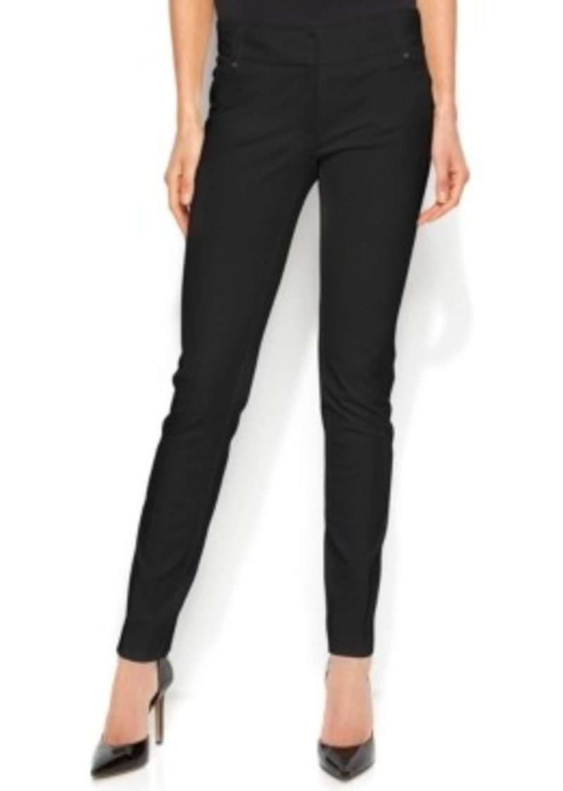 Alfani Tummy Control Rivet Pocket Skinny Pants