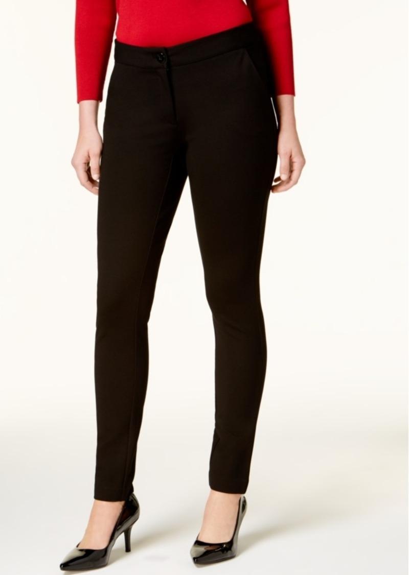 Alfani Tummy Control Skinny Pants, Created For Macy's