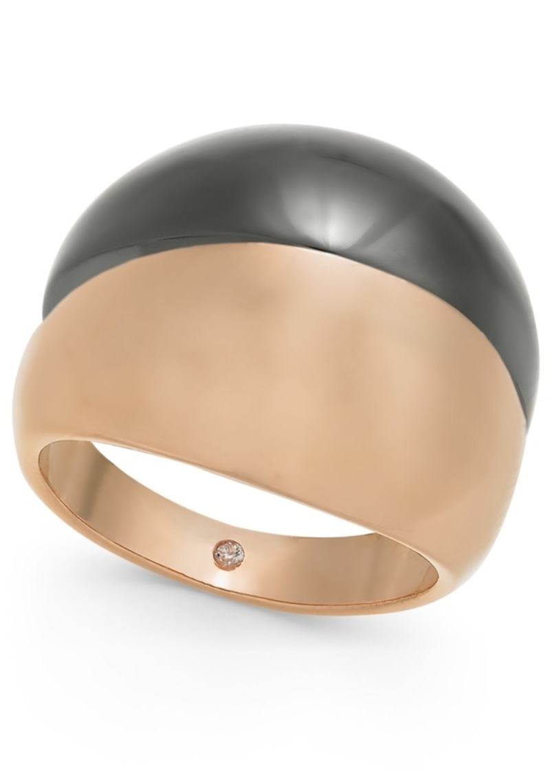 Alfani Two-Tone Wide Ring, Created for Macy's