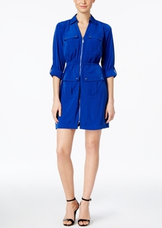 Alfani Utility Shirtdress, Only at Macy's