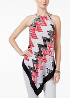 Alfani V-Hem Halter Top, Only at Macy's