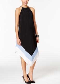 Alfani V-Hem Hardware Dress, Only at Macy's