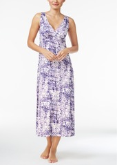 Alfani V-Neck Long Knit Nightgown, Only at Macy's