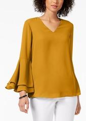 Alfani Bell-Sleeve Blouse, Created for Macy's