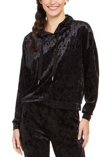 Alfani Velvet Sleep Hoodie, Created For Macy's