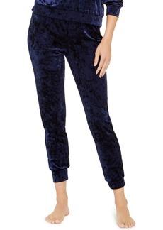 Alfani Velvet Sleep Jogger Pants, Created For Macy's