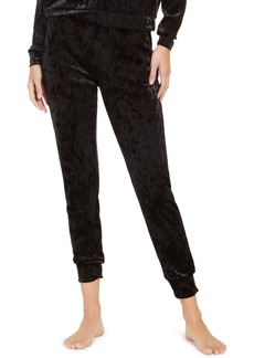 Alfani Velvet Sleep Jogger Pants, Created For Macy's