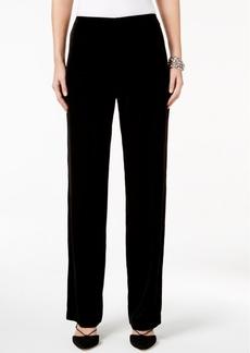 Alfani Petite Velvet Pull-On Pants, Only at Macy's