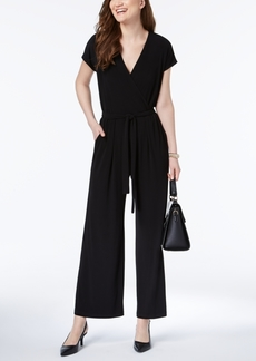 Alfani Wide-Leg Jumpsuit, Created for Macy's