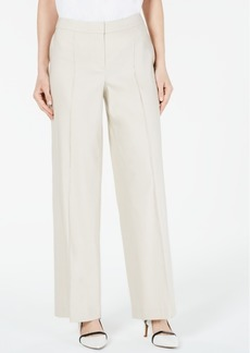 Alfani Petite Wide-Leg Linen Pants, Created For Macy's