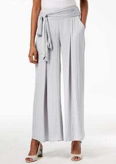 Alfani Wide-Leg Tie-Waist Pants, Created for Macy's