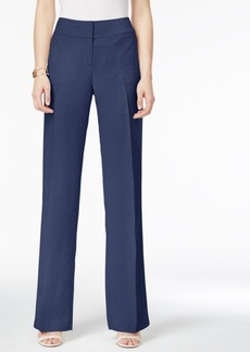 Alfani Linen Wide-Leg Trousers, Only at Macy's