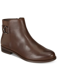 Alfani Women's Ayaa Step 'N Flex Flat Ankle Booties, Created for Macy's Women's Shoes